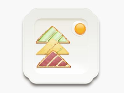 Christmas Sandwich photoshop icon texture food christmas xmas
