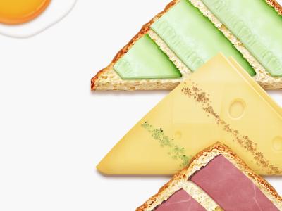 Adidas Sandwich photoshop texture food christmas xmas adidas