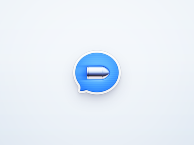 Bullet Messenger messenger bullet icon