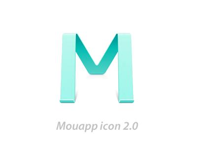 Mouapp icon 2.0 icon mou mouapp photoshop markdown webdeveloper chenluo