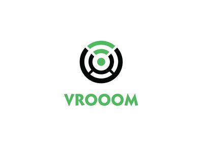 Vrooom logo Design