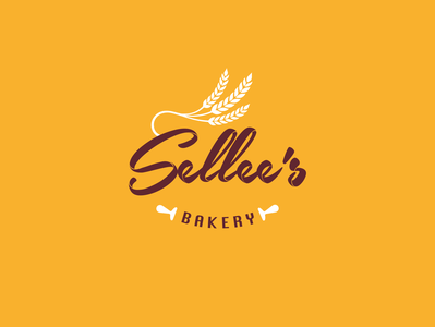Sellee's Bakery Logo Design