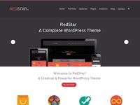 Redstar - Creative WordPress Theme