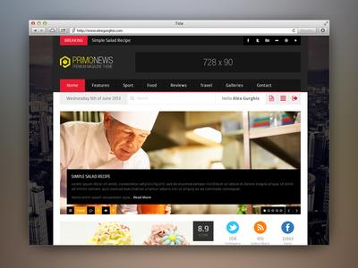 PrimoNews - Premium Review Magazine