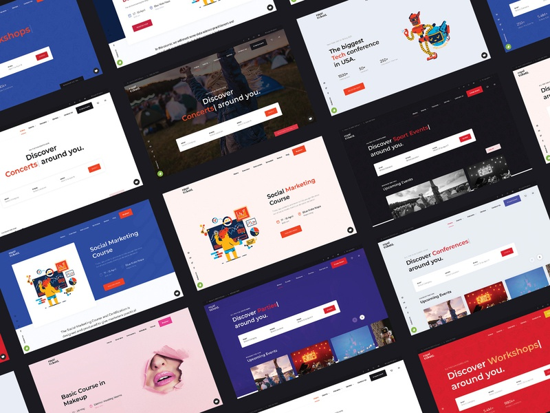 RoyalTickets - Events Booking WordPress Theme landing design business responsive website courses summits conference listing directory event theme wordpress tickets booking events
