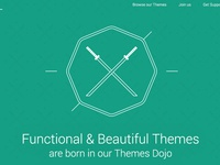 ThemesDojo new website.