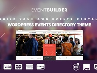 EventBuilder – WordPress Events Directory Theme