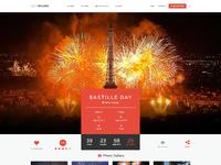 Eventlbuilder event page