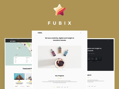 Fubix - Elegant Multi-Purpose WordPress Theme