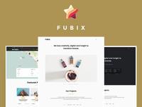 Fubix - Elegant Multi-Purpose WordPress Theme