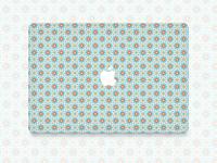 Marrakech pattern macbook sticker