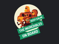 Free - The Incredibles Car Sticker