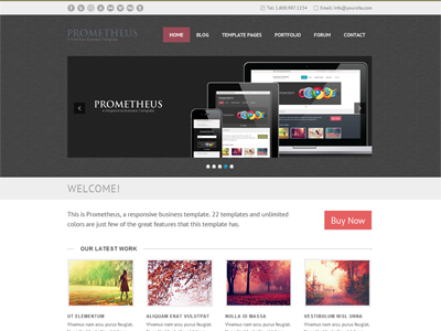 Prometheus dribbble 1