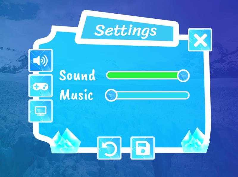 settings 007 dailyui game design game art game