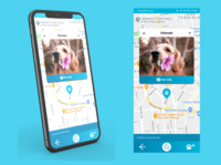 Location Tracker location tracker design daily uxdesign movil ui ux dailyuichallenge
