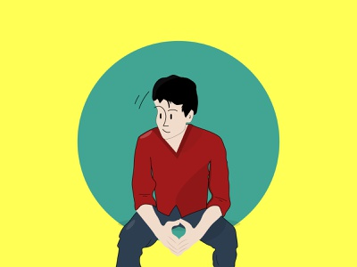 my first illustration vector concept creative color animation character design character design illustration