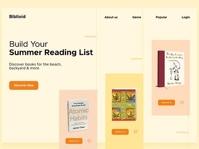 Landing page #DailyUI design