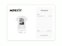 AnimeSoc Checkout