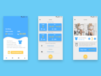 UI for Laundry Services