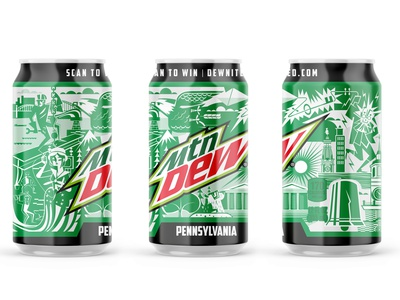 One Color, Dewnited Pennsylvania Mountain Dew