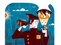 Baltimore mag sky police