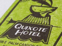 Diagram of the Quixote Hotel & the Presidential Suite