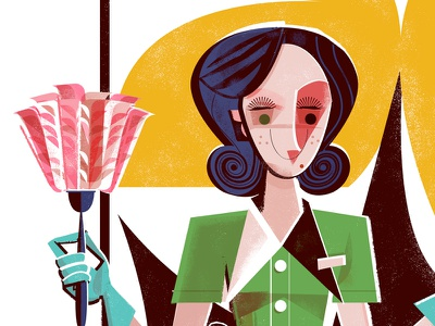 Who is Juanita Comida? credenza duster maid the hotel detective