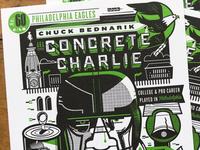 Concrete Charlie Letterpress Cards