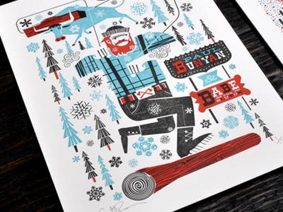 See Scotty Shop online shop letterpress illustration card series the heroes of folk
