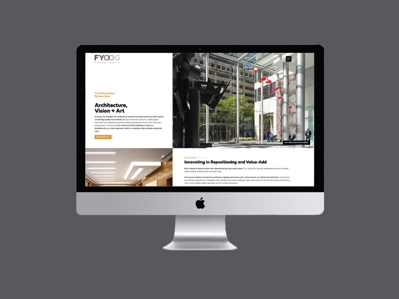 FYOOG Website Design logo