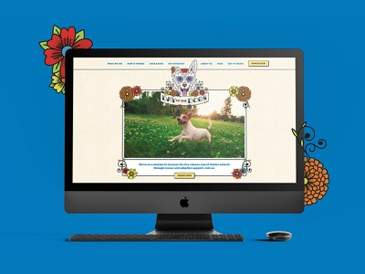 Day of The Dogs marketing collateral outreach tools website visual identity