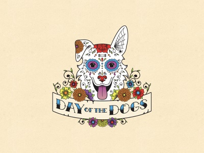 Day of The Dogs outreach tools marketing collateral website print design visual identity