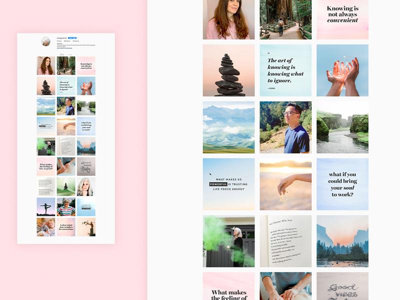 Anna Scott Coaching digital design social media design website visual identity