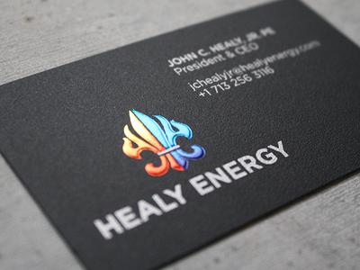 Healy Energy Business Card