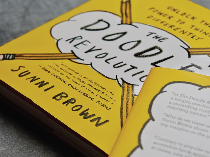 Sunni Brown Identity logo layout doodle book design visual identity