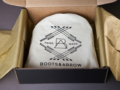 Boots & Arrow Packaging