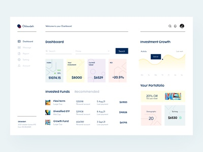Finance Dashboard Design 💵 stats dashboard ui analytics admin chart finance finance dashboard dashboard design dashboard branding logo illustration button app ui design uiux uidesign figma