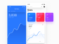 Dashboard for iPhone X