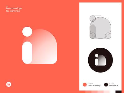 """Brand new logo for team """"innn"""" figma innn branding vector logo 2d logo"""