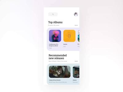 Music App Concept 02