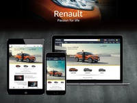 Renault Landing page on Amazon.in