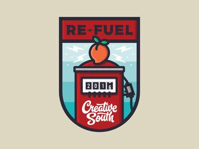 Re-Fuel Badge