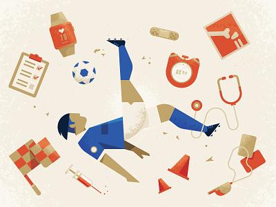 Everton Medical everton bicycle sports medical article illustration soccer football espn