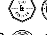 Clay & Bones Identity 2