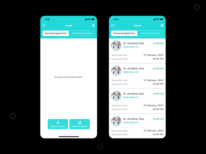 Doctor app uidesign doctor appointment book appoinment doctor app mobile app