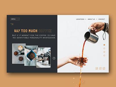 coffee online shop online web caffe caffè shop website design website coffeeshop design coffee