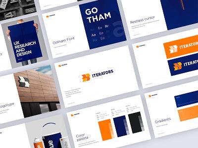 Iterators BrandBook design ui branding brand