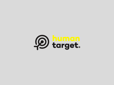 Humantarget logo concept / For Sale hire job freelance smart branding brand head arrow mark target human logo