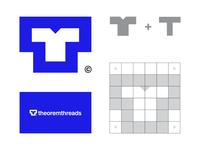 TheoremThreads logo concept