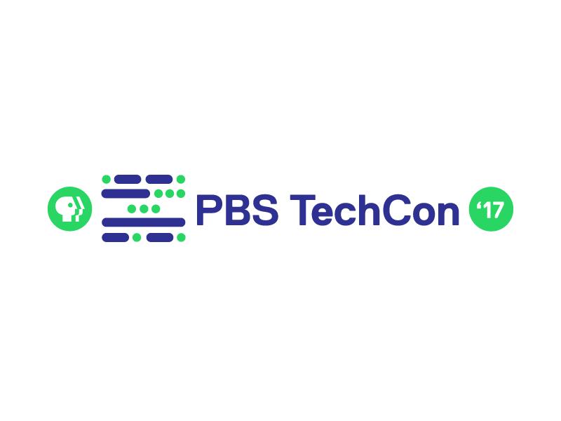 PBS TechCon Logo pt II morse code identity conference technology techcon branding mark logo